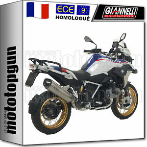 GIANNELLI POT D ECHAPPEMENT APPROUVE MAXI OVAL CC BMW R 1250 GS 2019 19