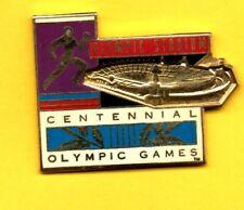 Pin's Lapel pin enamel CENTENNIAL OLYMPIC GAMES STADIUM stade Atlanta 100 EGF