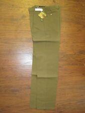 Mens 70s Vintage Original Levi's Movin' On Green Brown Dress Pants Slacks 31x34!