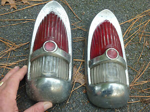 (2) DESOTO DESAO TAIL LIGHTS 1953