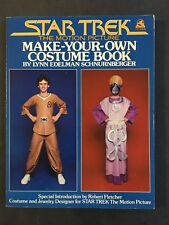 Star Trek The Motion Picture Make Your Own Costume Book