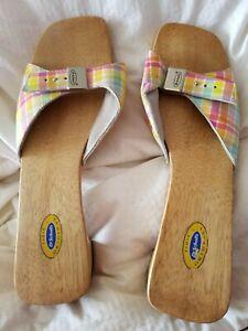Dr Scholl's shoes s wooden size 10 m