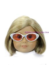 White Stars Print Sunglasses 18 in Doll Clothes Accessory Fits American Girl