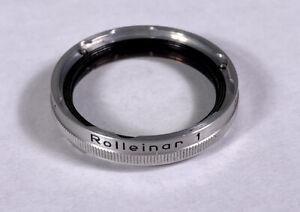 Rollei Rolleinar 1 Bay 1 Filter Lens FILTER ONLY