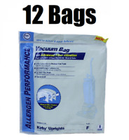 (12) Style F Bags for Kirby Vacuum Allergen Reduction Universal Fit 413160