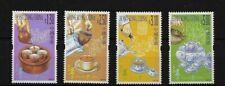 China Hong Kong 2001 Tea Culture 4v MNH