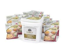 Legacy Premium Emergency Food Supply 60 Serving Gluten Free Meal Entree Bucket