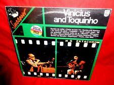 VINICIUS and TOQUINHO LP 1977 ITALY MINT-