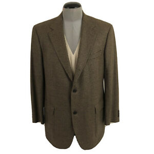 NWT Brooks Brothers Ing Loro Piana Mens 42R Houndstooth Wool Sport Coat $498