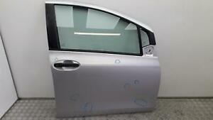 2006 TOYOTA YARIS Hatchback Silver UNK OS Front Right Drivers Door 670010D170