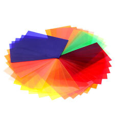 Neewer Photography Speedlite Flash 35PCS Square Full Color Balance Gel Filter