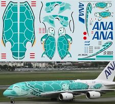 1/144 Airbus A380 ANA Airlines KAI JA382A  Delivery Decals TB Decal TBD392
