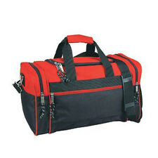 "20"" Duffle Bag Duffel Sport Travel Work Bag Gym Clothing Bag Carry-On Red/Black"