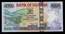 UGANDA  5000 SHILLINGS  2004 DZ PICK # 44a  UNC.