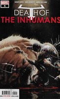 Death Of The Inhumans Comic Issue 5 Modern Age First Print 2018 Cates Olivetti