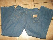 vintage 50s authentic wrangler indigo denim western jeans no blue bell