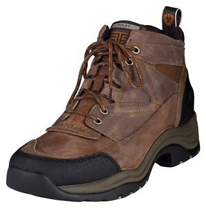 MENS ARIAT TERRAIN BOOTS! GREAT FOR RIDING, WORK, HIKING! 10002182(34524)