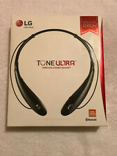 LG Electronics Tone Ultra (HBS-800) Bluetooth Stereo Headset Black WBOX