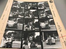 FRANCIS LEMARQUE : PLANCHE CONTACT ORIGINALE DE 1972