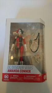 DC Comics Designer Series Amander Conner Spacesuit Harley Quinn Damaged box