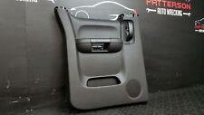 2011 CHEVY SILVERADO 1500 Driver Left Rear Interior Door Trim Panel Black 19I
