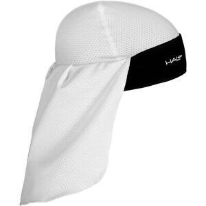 Halo Headband Solar Skull Cap and Tail - White