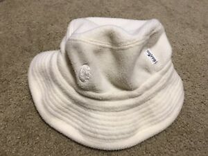 CONTE of FLORENCE Fleece Buckle Hat Sz 58 Made in ITALY