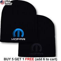 Mopar Logo Short Beanie Dodge Hemi Ram Skull Cap Jeep Charger Hat Challenger Men