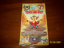 American Tail, An - Fievel Goes West (VHS, 1992)
