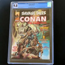 Savage Tales #4 (Marvel 1974) 💥 CGC 9.8 💥 Rare! Conan the Barbarian Neal Adams