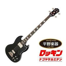 Epiphone EB-3 Bass Ebony beutiful rare JAPAN EMS F/S*