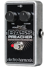 NEW Electro Harmonix Bass Preacher Compressor Sustainer for Bass w/ Battery EHX