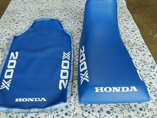 HONDA ATC200X ATC 200X 1985 MODEL  Seat Cover BLUE (H11)