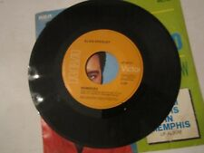 """ELVIS PRESLEY 45 RECORD - """"MEMORIES"""" IN A """"IN THE GHETTO"""" RECORD SLEEVE - MMMM1"""