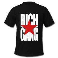 Rich Gang RG, Young Money and Cash Money Hip hop Music Black Men's T-Shirt Tee