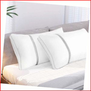 BedStory Pillows for Sleeping 2 Pack, Hotel Quality Bed Pillow King Size, Down