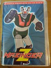 Mazinger Z 10 DVD Comple Serie Boxset Audio in Original Latin Spanish OFFICIAL