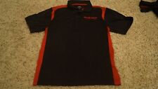 Big O Tires Polo shirt Men's Size Small S Moisture Wicking Black Red