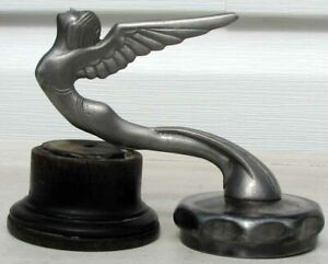 RARE EARLY MODEL A FORD WINGED GODDESS RADIATOR CAP MASCOT VERY NICE L@@K G640