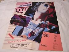 John Lennon Video Promo Poster-COME TOGETHER LIVE