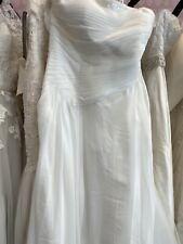 size 18- 20 wedding dress by Just For You fine net fabric overlay B New With Tag