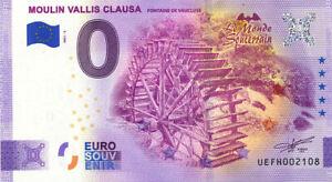 84 FONTAINE-DE-VAUCLUSE Moulin Vallis Clausa 2, 2021, Anniversaire