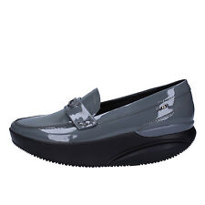 women's shoes MBT 6 / 6,5 (EU 37) loafers gray patent leather AC443