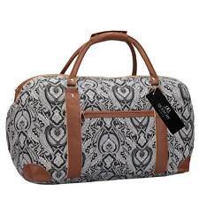 15 COLOURS Travel Holdalls Weekend Overnight Bags Womens Ladies Gym Holdall Bag