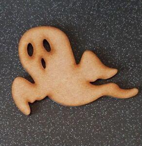 MDF Halloween Ghost / Ghoul Shape Blank Wood 10 15 20 30 40cm Unpainted