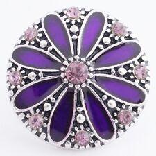 Button Click Druckknopf 8630 Blume - kompatibel Chunk Armband