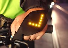 Handblinker - Blinker für Radfahrer Blinkerhandschuh Fahrradblinker LED-Licht
