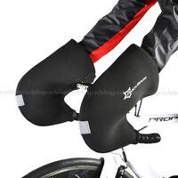 RockBros Winter Cycling Gloves Road Bike Handlebar Mittens Hand Warmers Covers