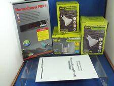 Lucky Reptile Thermostat Control PRO II Komodo Ceramic Vivarium Heater Set-Up
