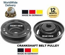 FOR OPEL VAUXHALL VECTRA C GTS 1.6 1.8 2006> CRANKSHAFT CRANK SHAFT BELT PULLEY